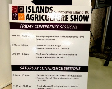 Islands Ag Show Lineup